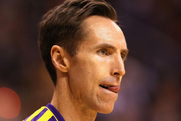 Best-Case, Worst-Case Scenarios for Steve Nash in 2013-14 Season