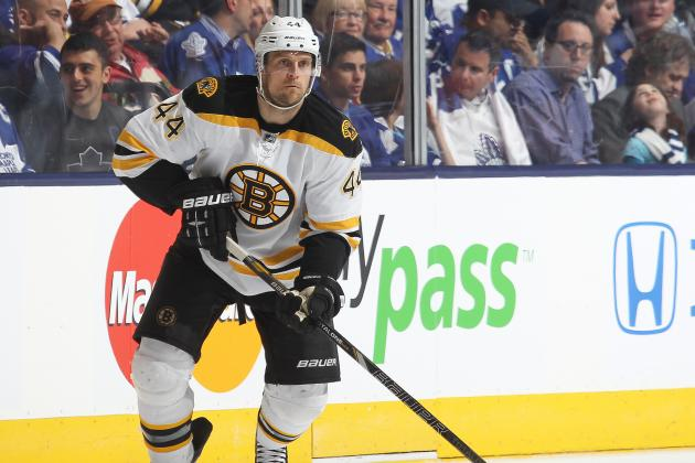 Bruins' Seidenberg, Redden Working Way Back