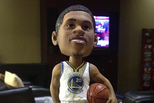 Instagram: Bazemore Gets Bobblehead Treatment
