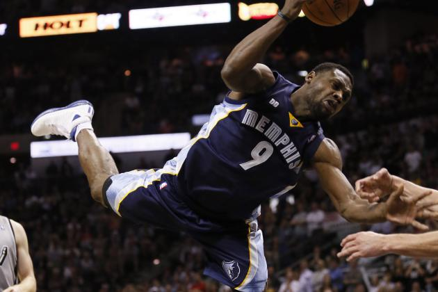 Grizzlies' Tony Allen Fined for Flop During Playoffs