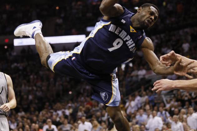 Tony Allen Fined $5,000 for Flopping in Game 2
