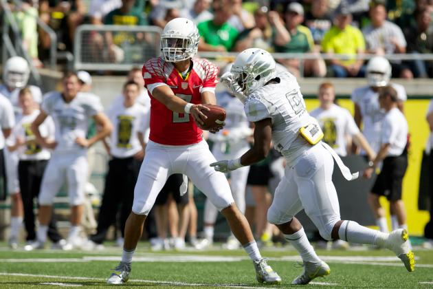 Ducks' Game at Virginia Set for 12:30 P.m. Kickoff, National Broadcast