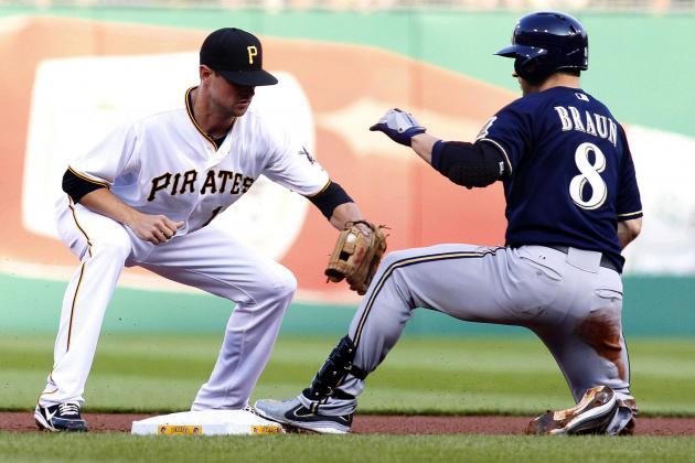ESPN Gamecast: Pirates vs Brewers