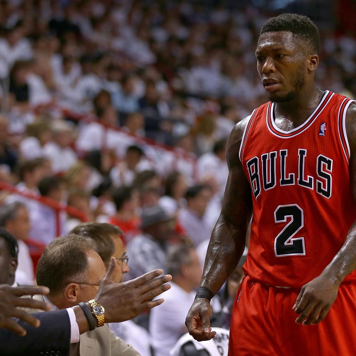 Chart Logo With A Arrow: Why Nate Robinson Is As Good As Gone For Chicago Bulls