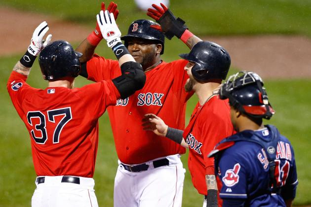 Red Sox 8, Indians 1