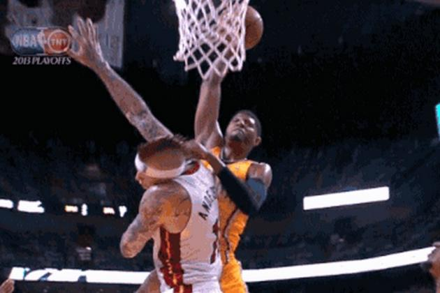 LeBron James and Paul George Turn Heads with Epic Game 2 Highlight-Reel Duel
