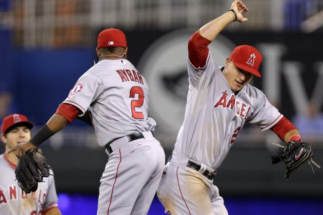 Trout, Angels Top Royals for 6th Straight Win
