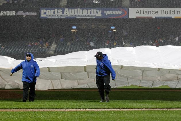 Braves vs. Mets Suspended After Eight Innings, to Resume Saturday