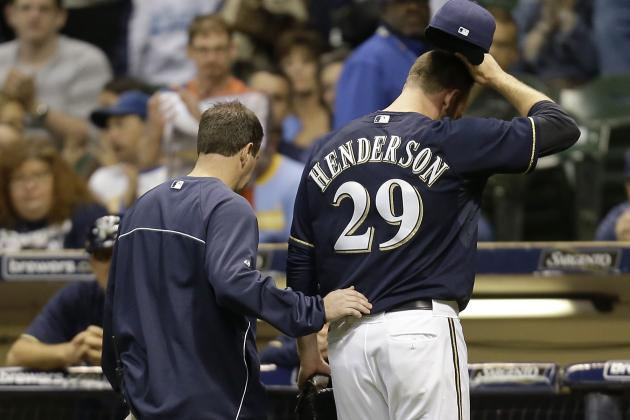 Jim Henderson Suffers Right-Hamstring Strain