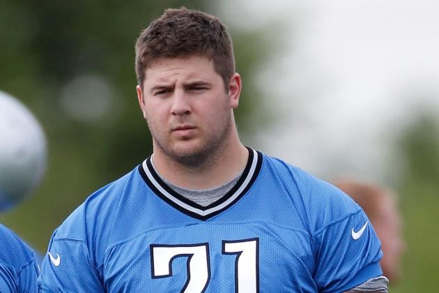 Lions Second-Year Lineman Riley Reiff Will Work to Earn Spot