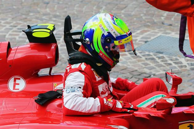 Ferrari's Felipe Massa Gets Gearbox Penalty After Crash
