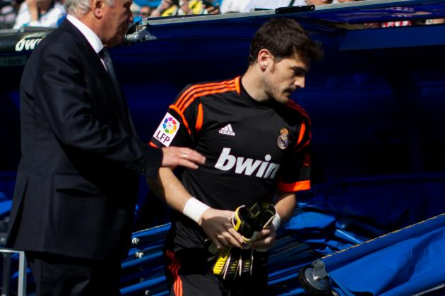 Casillas out of Madrid Squad