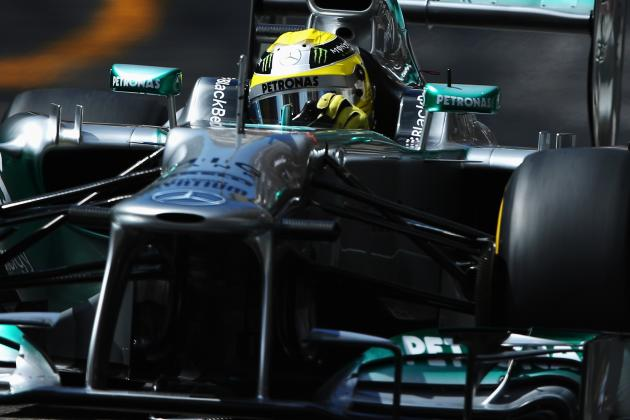 Ruthless Rosberg Storms to Third Pole in a Row