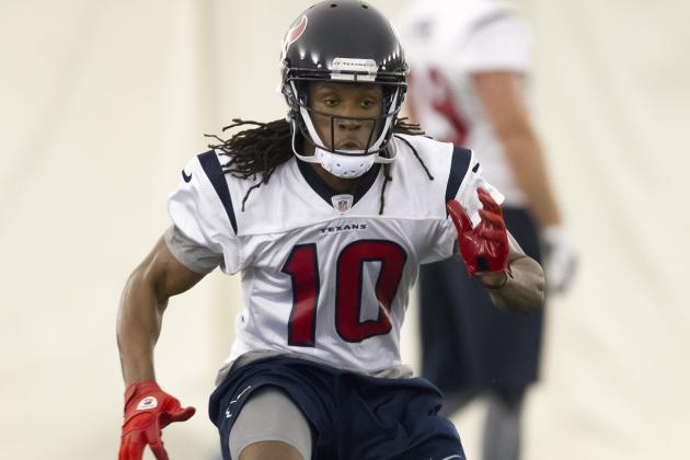 DeAndre Hopkins Behind Texans' Second-Year Receivers