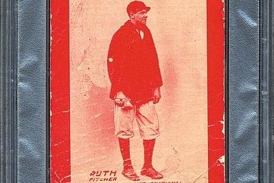 Babe Ruth Upsets Honus Wagner in Classic Baseball Card Slugfest