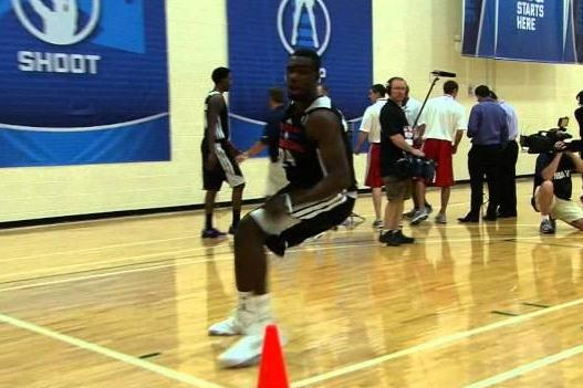 Tim Hardaway Jr. NBA Draft Workout