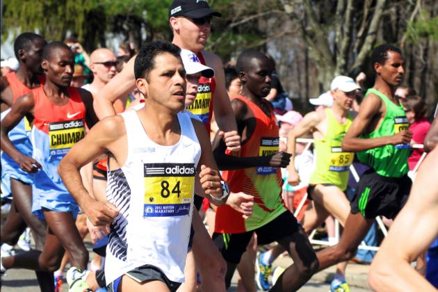 Boston Marathon Victims Cross Finish Line