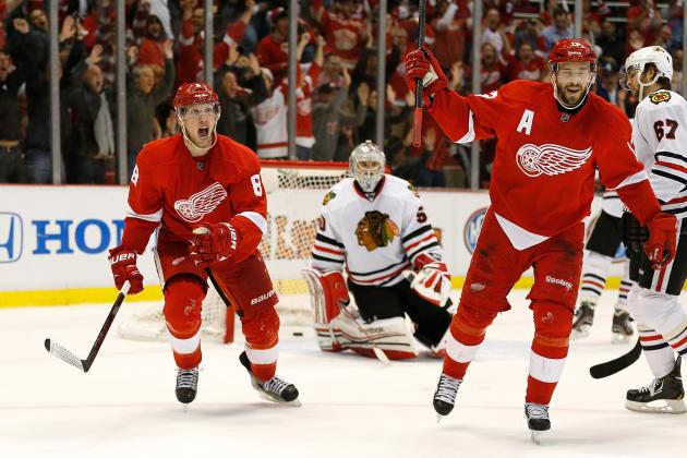 2013 Detroit Red Wings Thriving as Playoff Underdogs