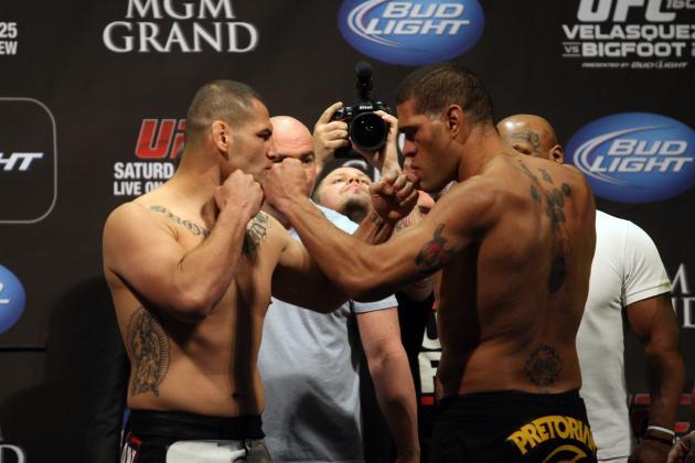 Velasquez vs. Bigfoot 2: Keys to Cain Knocking Off Antonio Silva at UFC 160