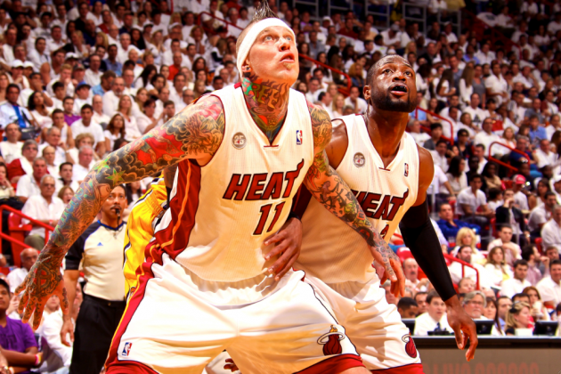 Chris 'Birdman' Anderson's Energy Covering Up Miami Heat's Only Weakness