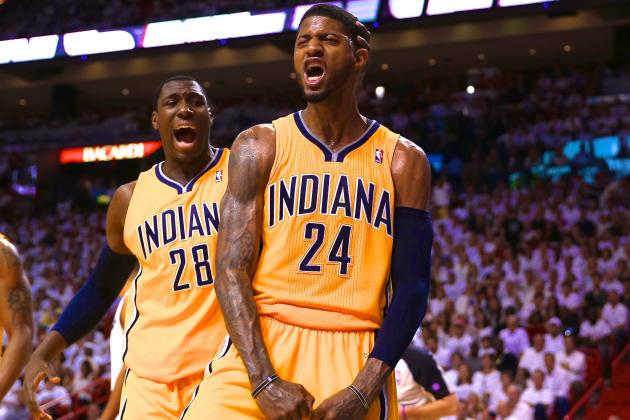 Comparing Paul George's Indiana Pacers to the Reggie Miller Years