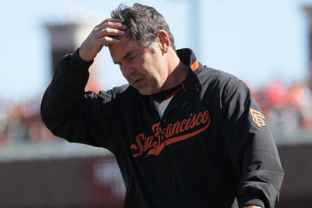 Bochy Ejected After HP Ump Blows 2nd Call of Game