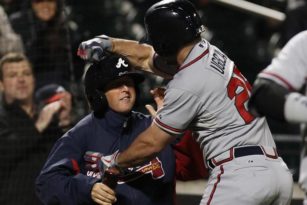 Uggla, Braves KO Mets in Suspended Game