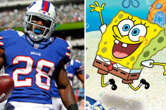 Watch: Bills RB Analyzes SpongeBob