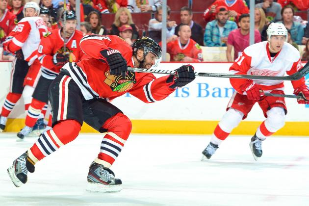 Detroit Red Wings vs. Chicago Blackhawks Game 5: Live Score, Updates & Analysis