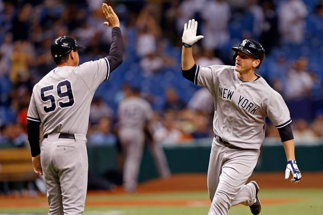 Yankees Rally, Win on Overbay'S HR in 11th