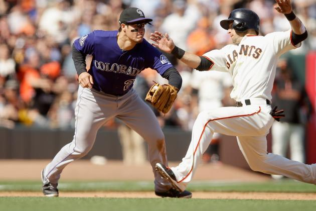 Rockies Blow 4-0 Lead to Giants, Lose Game on Inside-the-Park Home Run