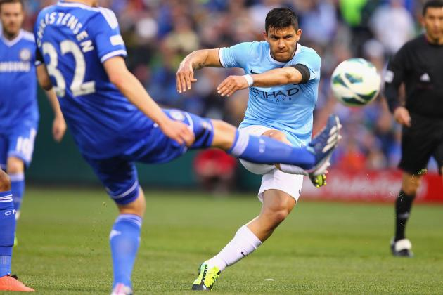 Manchester City Top Chelsea 5-3 in Thrilling Yankee Stadium Friendly