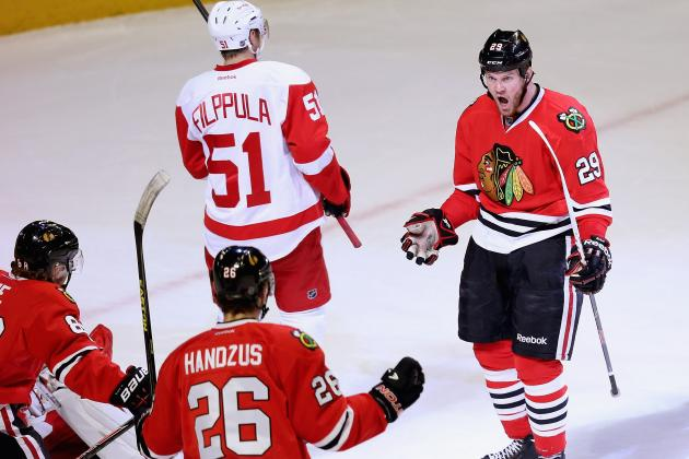Red Wings vs. Blackhawks Game 5: Score, Twitter Reaction and Analysis