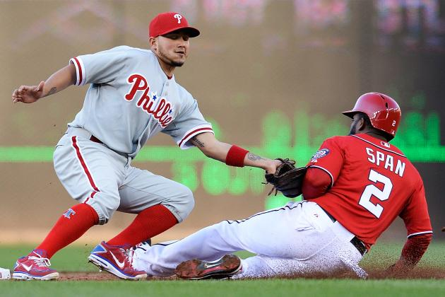 Young Delivers Go-Ahead Run as Phils Top Nats