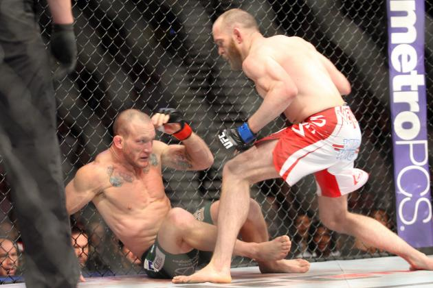T.J. Grant Knocks out Gray Maynard, Earns Next Shot at Benson Henderson's Title