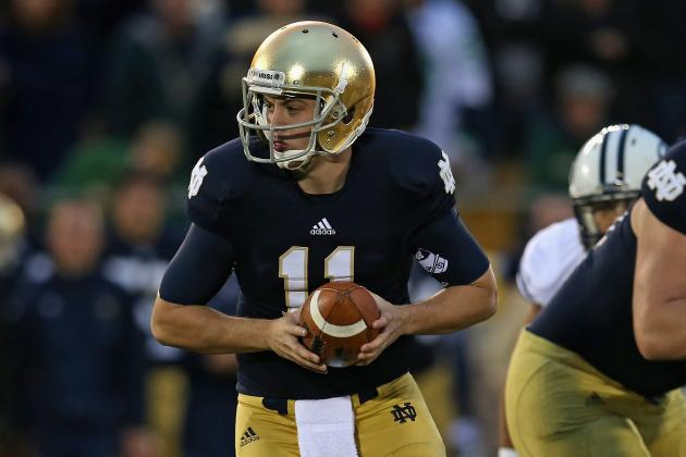 Tommy Rees Should Be Starting QB for Notre Dame Next Season
