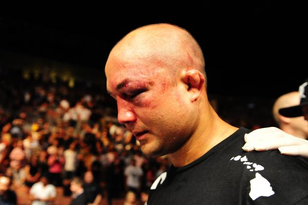 Dana White Says B.J. Penn Should Retire, Too Much Damage Taken over the Years