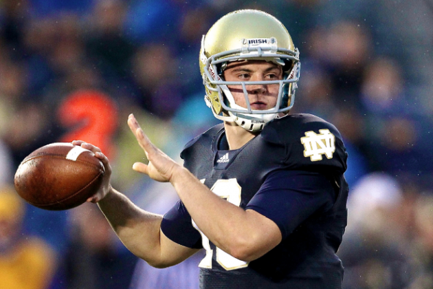 Everett Golson No Longer Enrolled at Notre Dame: Looking at Potential Starters
