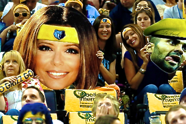 Grizzlies Fans vs. Tony Parker: The Eva Longoria Poster Comes out in Game 3