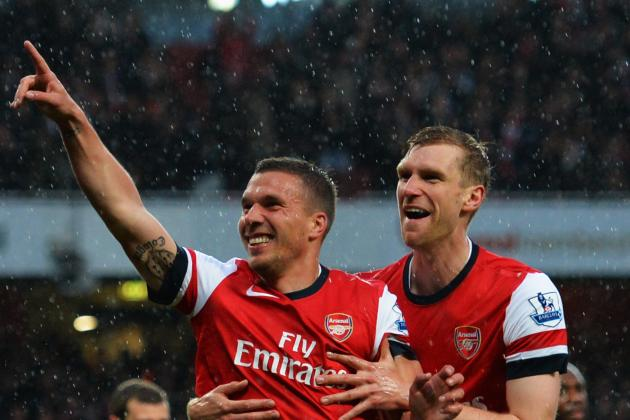 Lukas Podolski Says He Has No Plans to Leave Arsenal This Summer