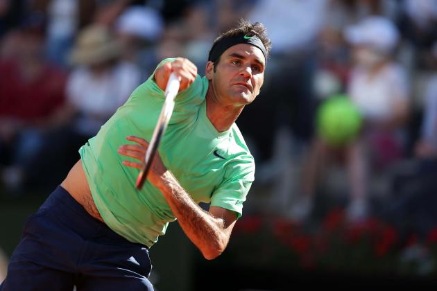 Roger Federer Defeats Pablo Carreno-Busta to Advance at 2013 French Open