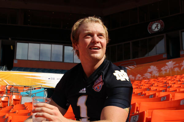 'I'm a Bearcat,' Gunner Kiel Says, Amid Golson-ND Speculation