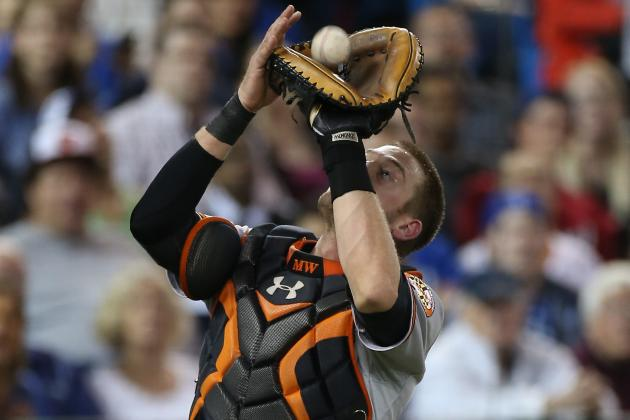 Matt Wieters Returns vs. Blue Jays