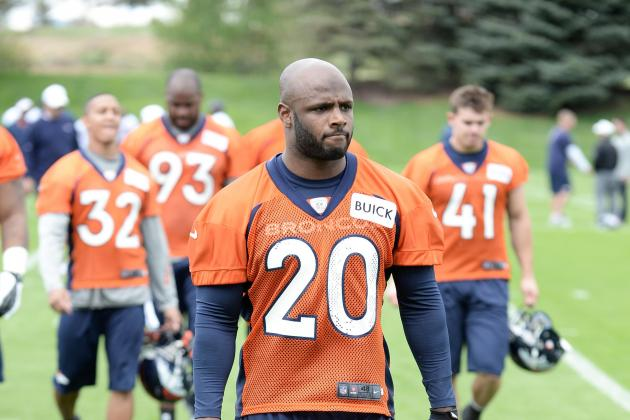 It's Safe to Say the Denver Broncos' Mike Adams Enjoys Competition