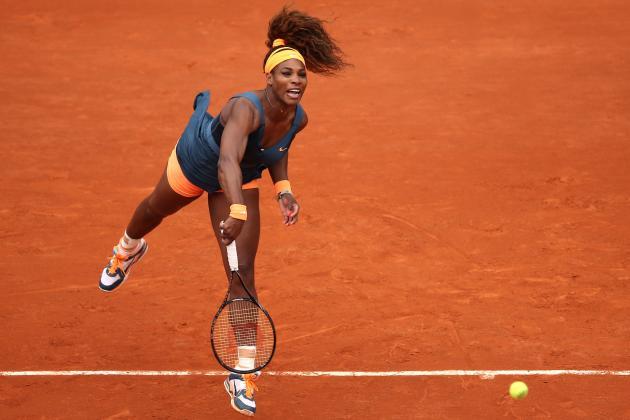 Serena Williams Defeats Anna Tatishvili to Advance at 2013 French Open