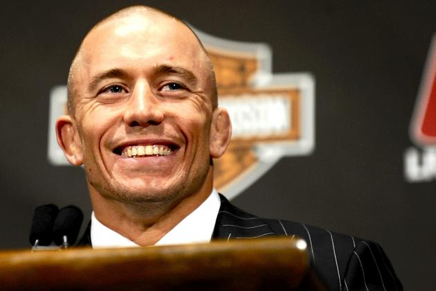 GSP Says Anderson Silva Superfight 'Won't Happen' After Weidman Wins at UFC 162