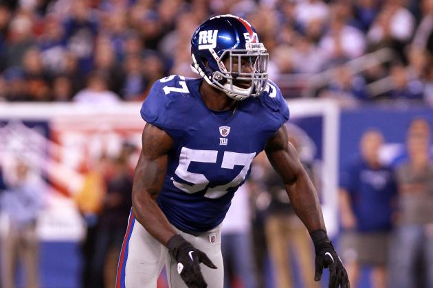 Can Jacquian Williams Be the Best New York Giants Linebacker in 2013?