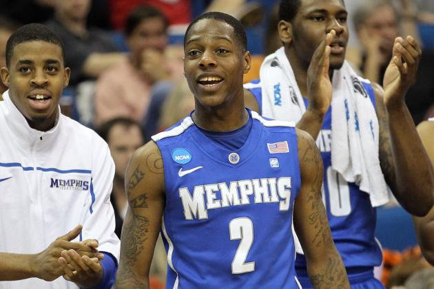 Former Memphis Guard Antonio Barton to Attend Tennessee for Senior Season