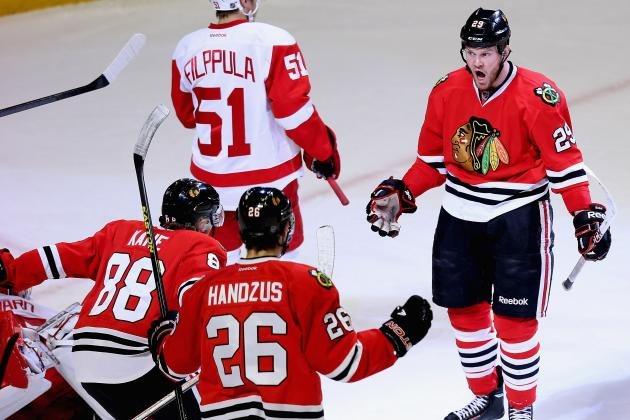 Chicago Blackhawks: Observations from Game 5 Win Over Detroit Red Wings