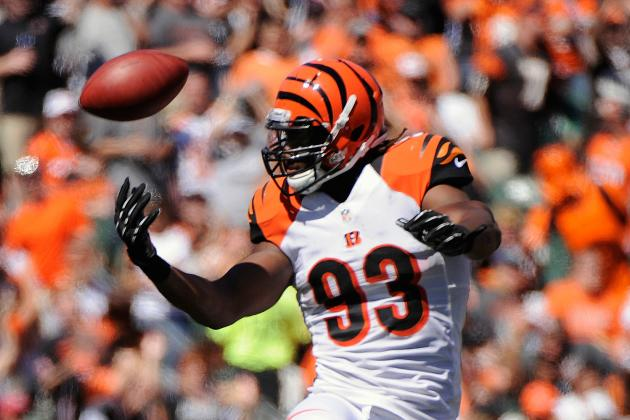 DE Johnson Happy to Be Back with Bengals